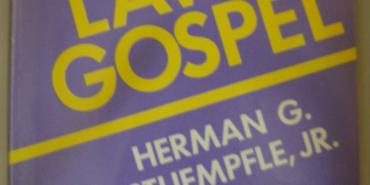 Law, gospel and preaching